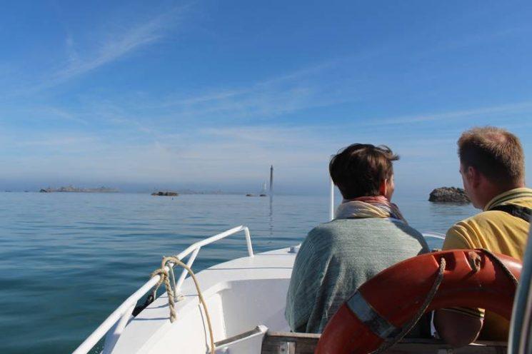La traversée en bateau