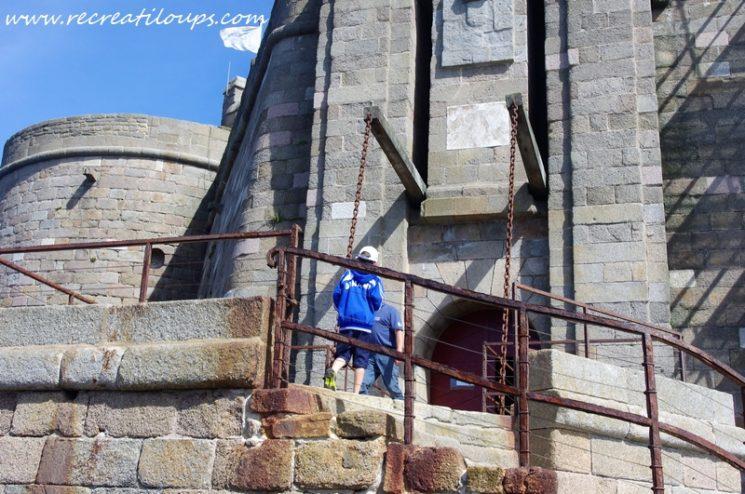 Château du Taureau, visite en famille