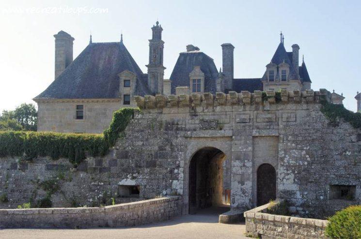 Château de Kerjean dans le Finistère