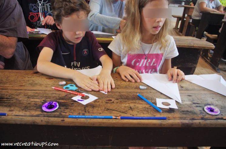 Fabrication de jouets d'écoliers