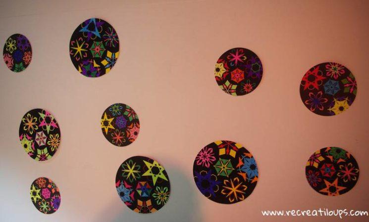 Coloriages de flocons