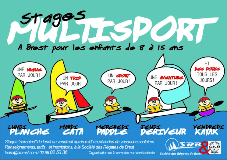 Le stage multisports