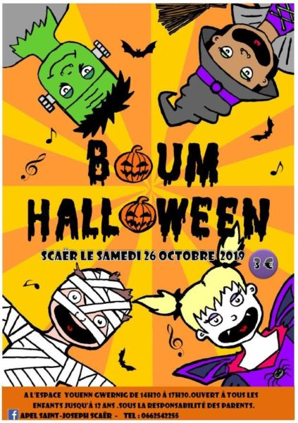 Boum Halloween à Scaër