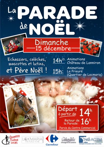 Parade de Noël à Quimper