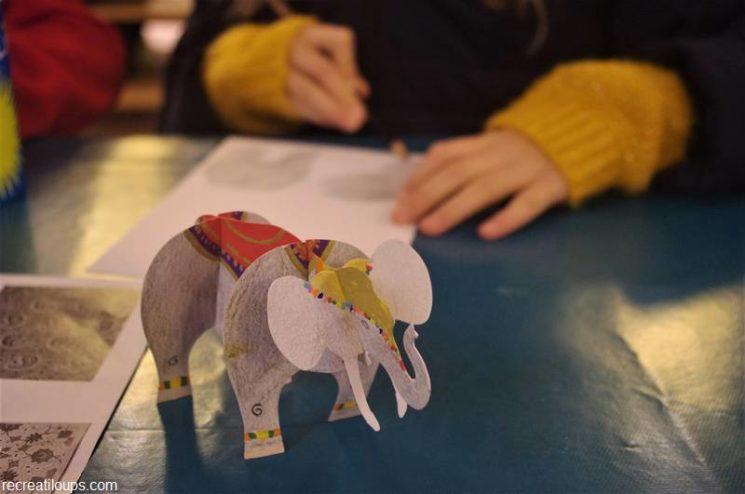 Atelier Parade des éléphants