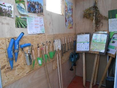 Des ateliers au jardin pour les enfants et familles