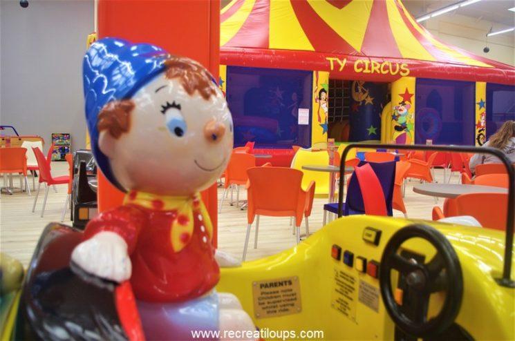 Jeux enfants à Ty Circus Brest