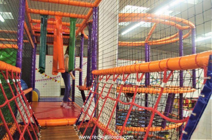 Aire de jeux à Ty Circus Brest