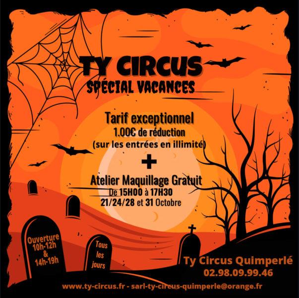 Ty Circus Quimperlé, Halloween