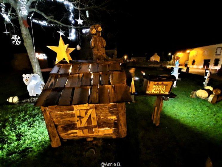 Décors de Noël à Coat-Méal