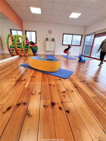La salle de sport des enfants