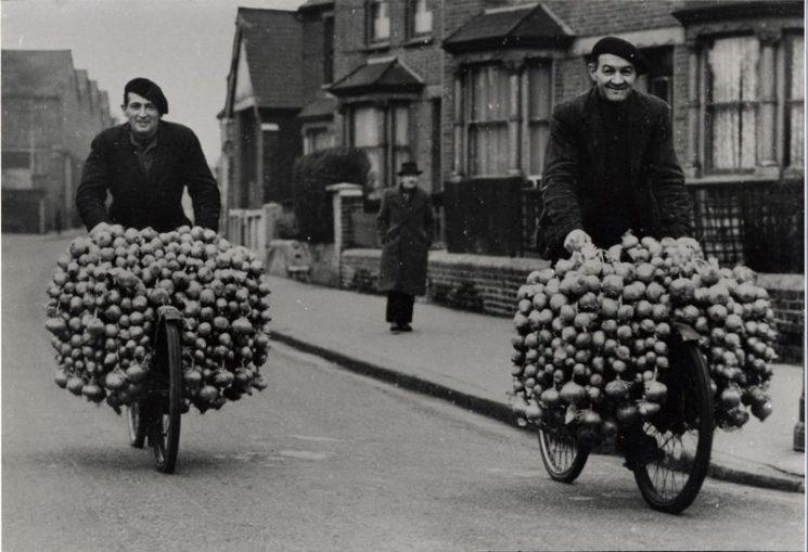 Photo : Albert Daridon et Claude Daridon , Croydon, Londres
