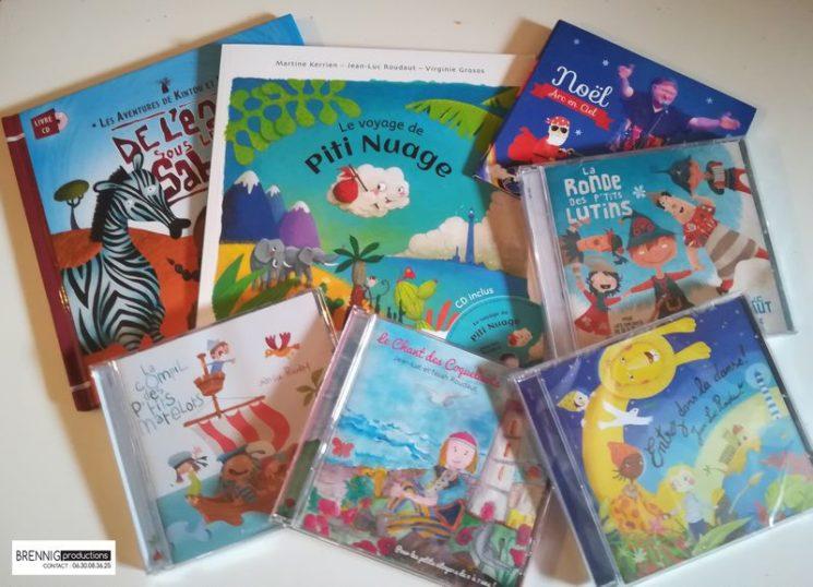 Albums jeune public et contes musicaux