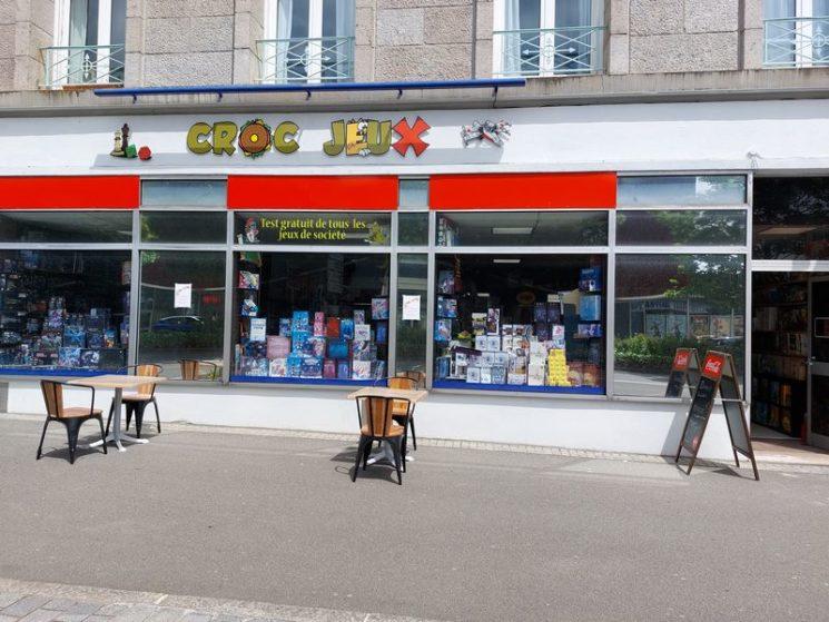 Croc Jeux, boutique de jeux à Brest