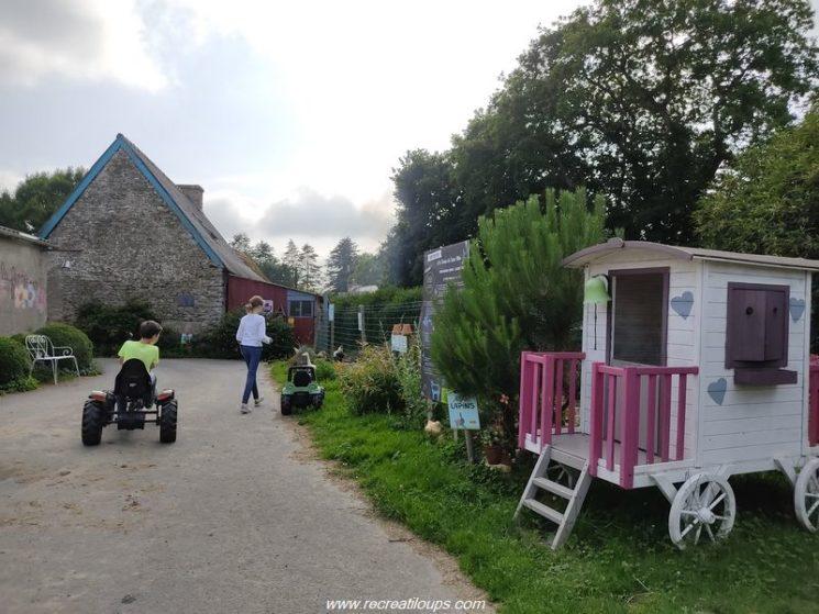 Camping de la Ferme de Croas-Men