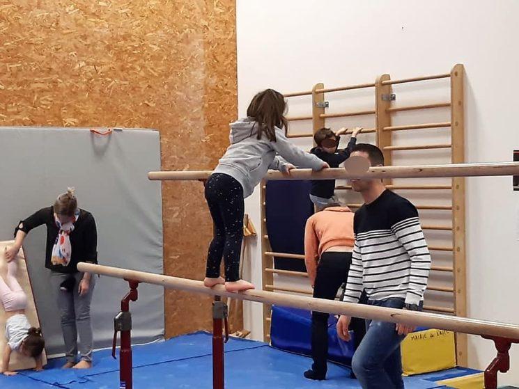 Un équipement dédié à la gym à Briec